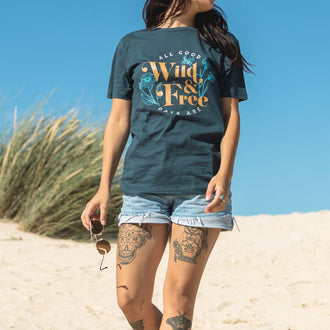 Tripper T-Shirt - Denim Blue