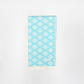 Turkish Towel - Wilverley Turquoise