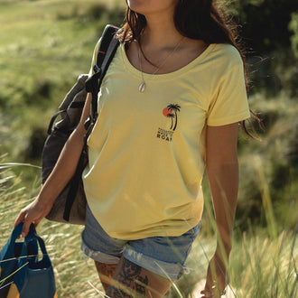 Yakima T-Shirt - Lemon Yellow