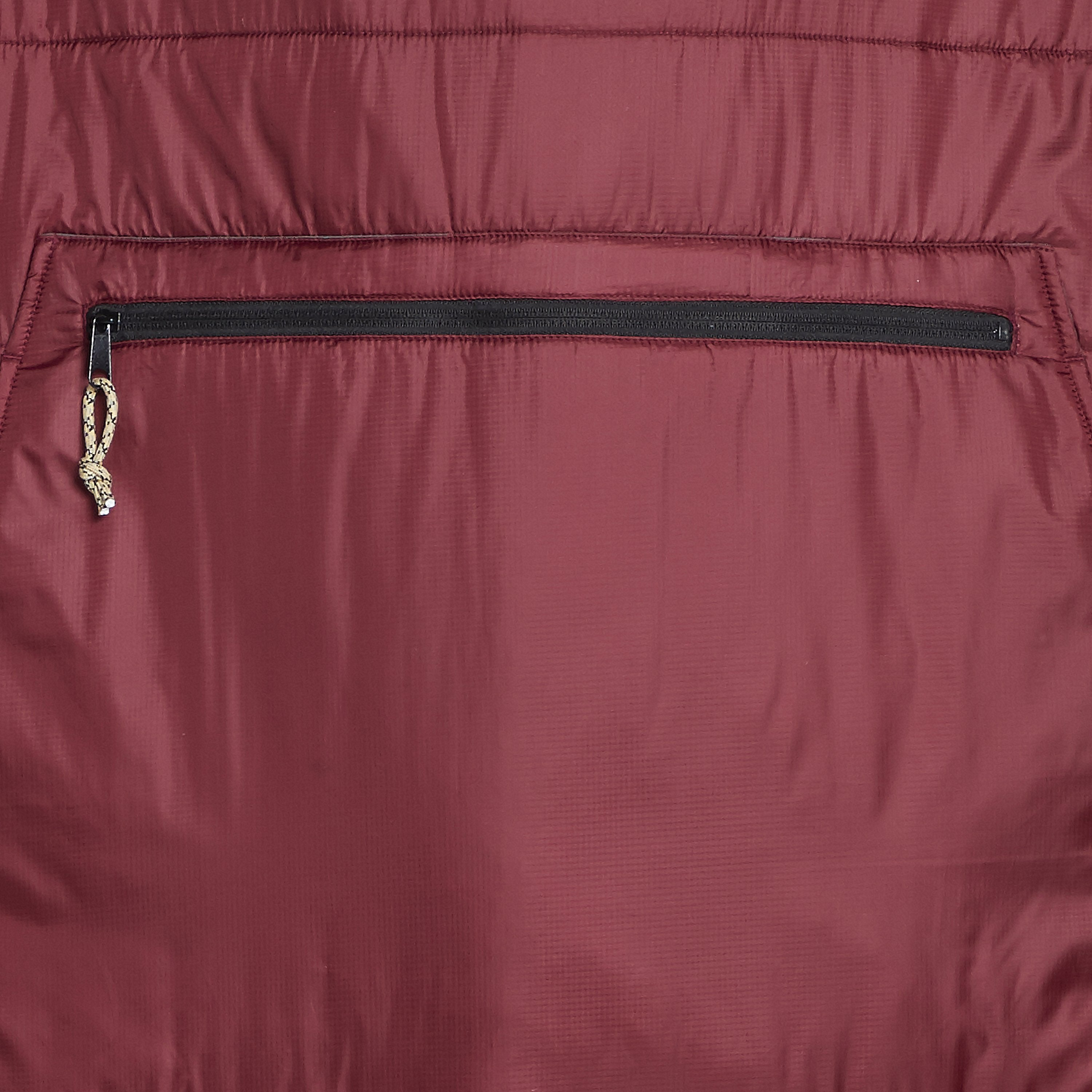 Voited Insulated Outdoor Poncho - Oxblood image 5
