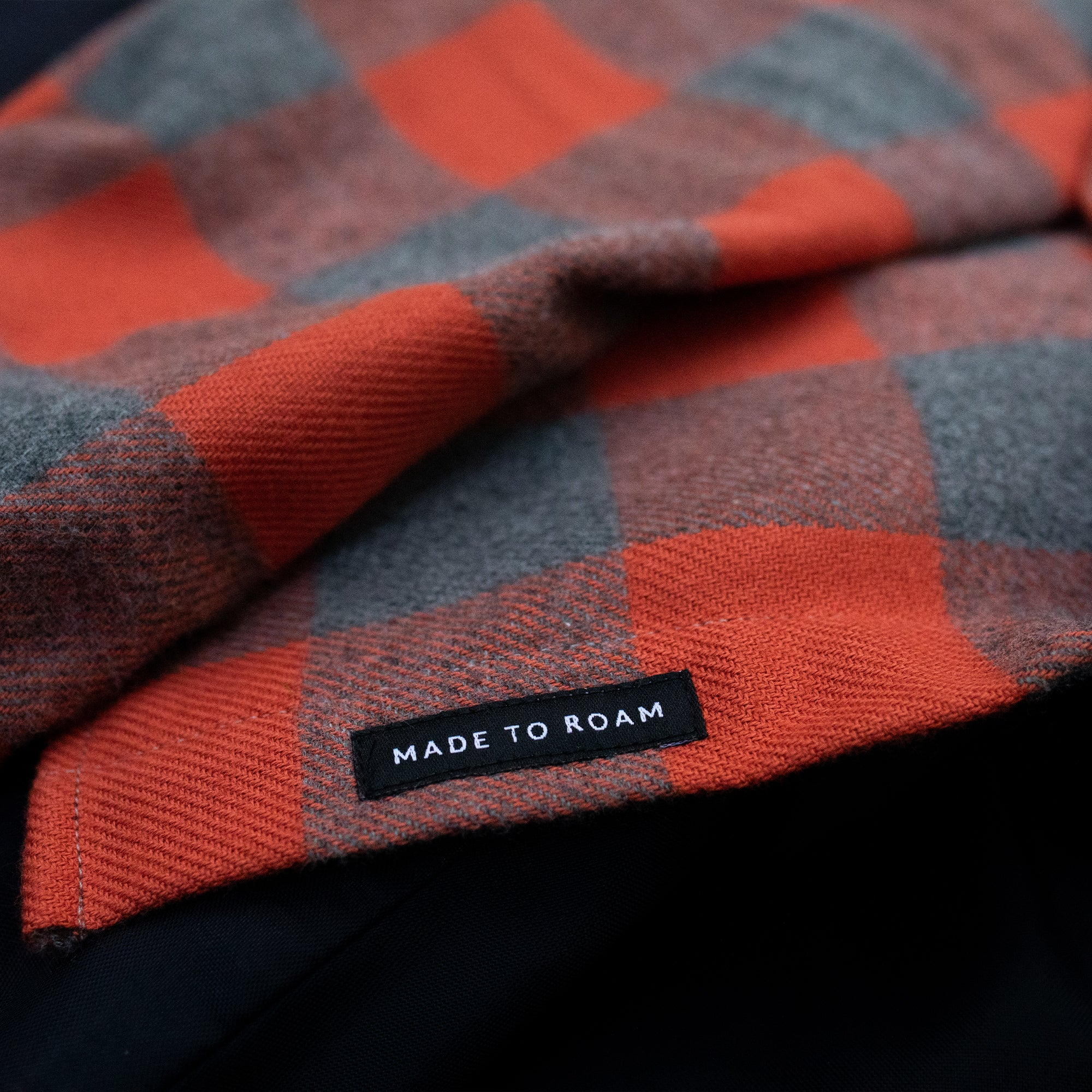 Deep South Shirt - Orange/ Grey Marl image 3