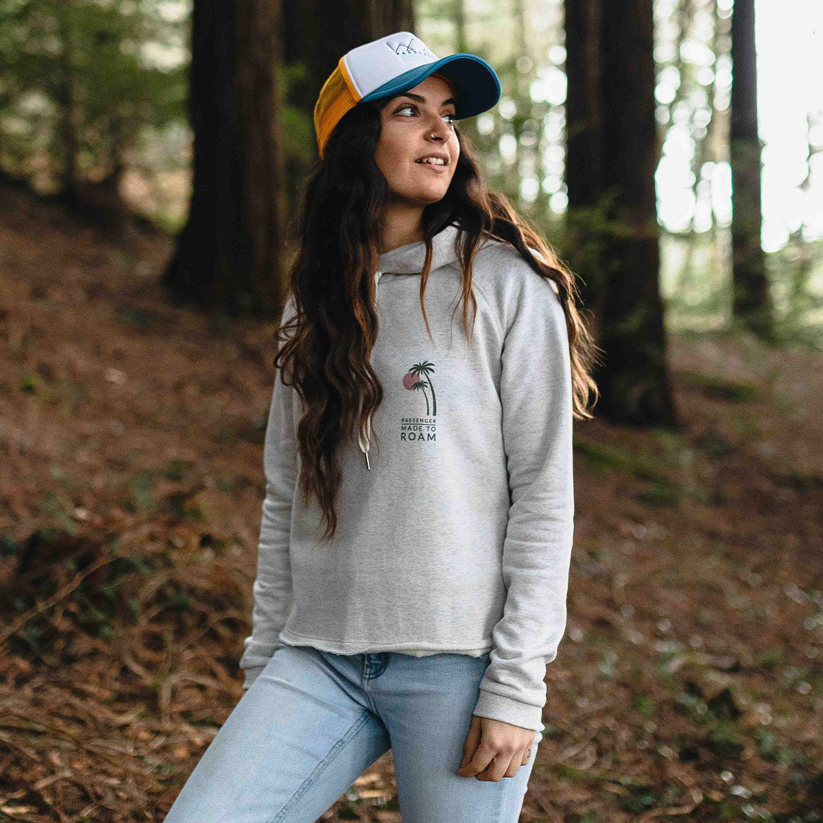 On The Move Hoodie - Birch Marl image 1