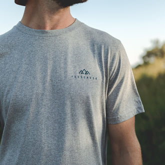 Escapism T-Shirt - Grey Marl