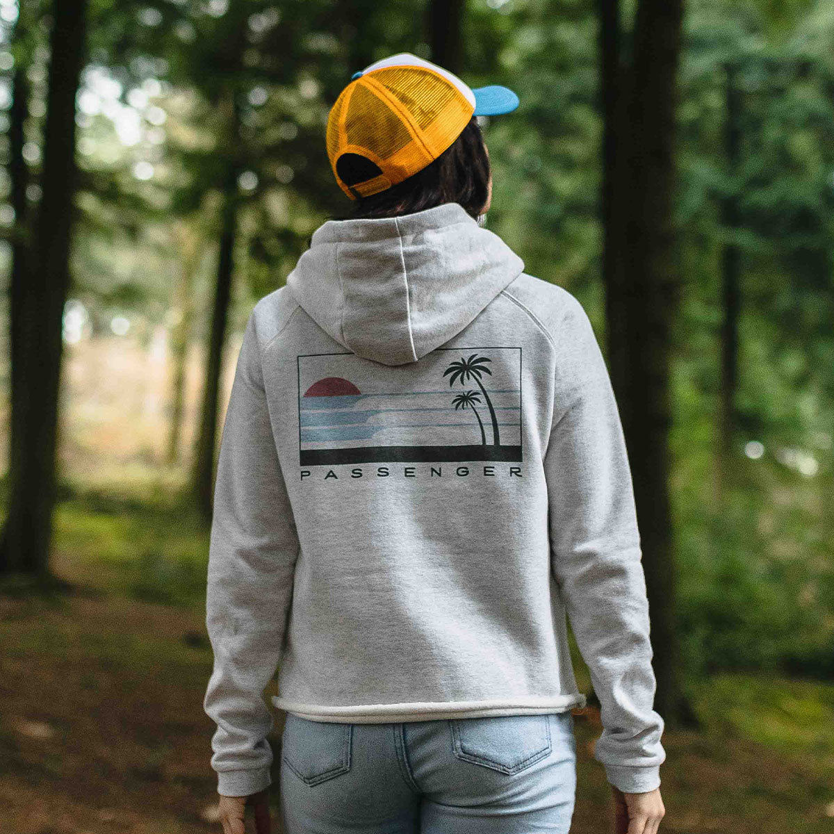 On The Move Hoodie - Birch Marl image 7