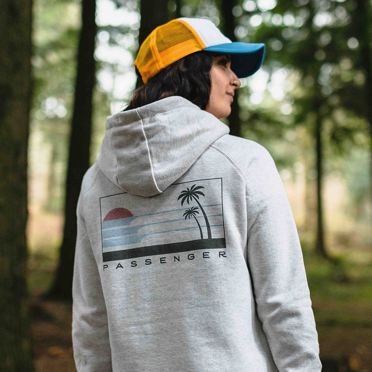 On The Move Hoodie - Birch Marl image 6