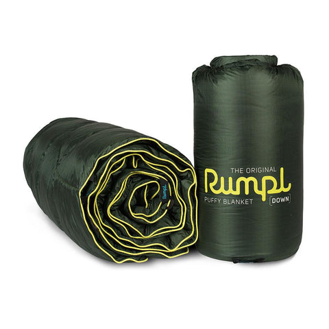 Rumpl Down Puffy Blanket 2 Person - Forest Green