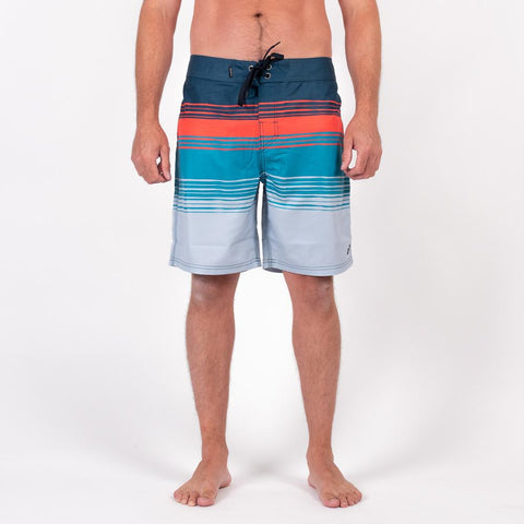 Hazed Boardshort - Multi Stripe