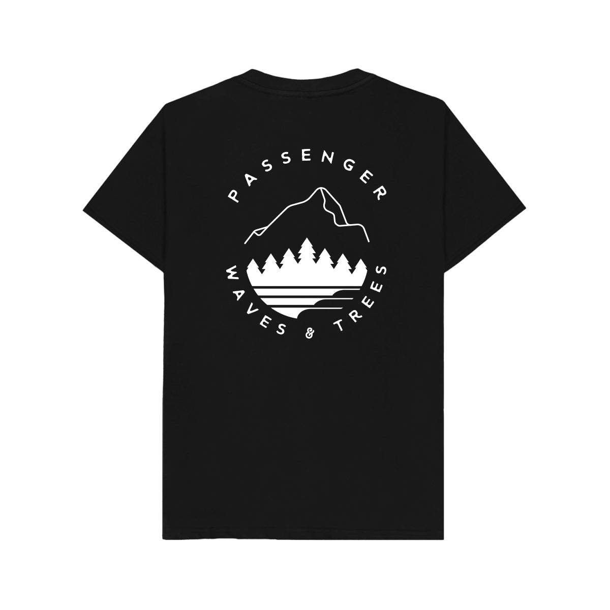 Pacific City  T-Shirt - Black image 7
