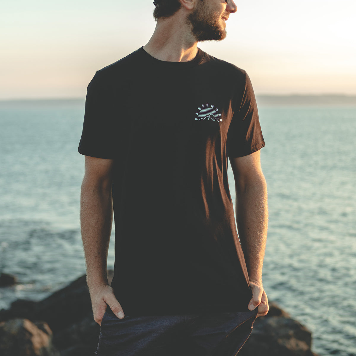 Lymington T-Shirt - Black image 1