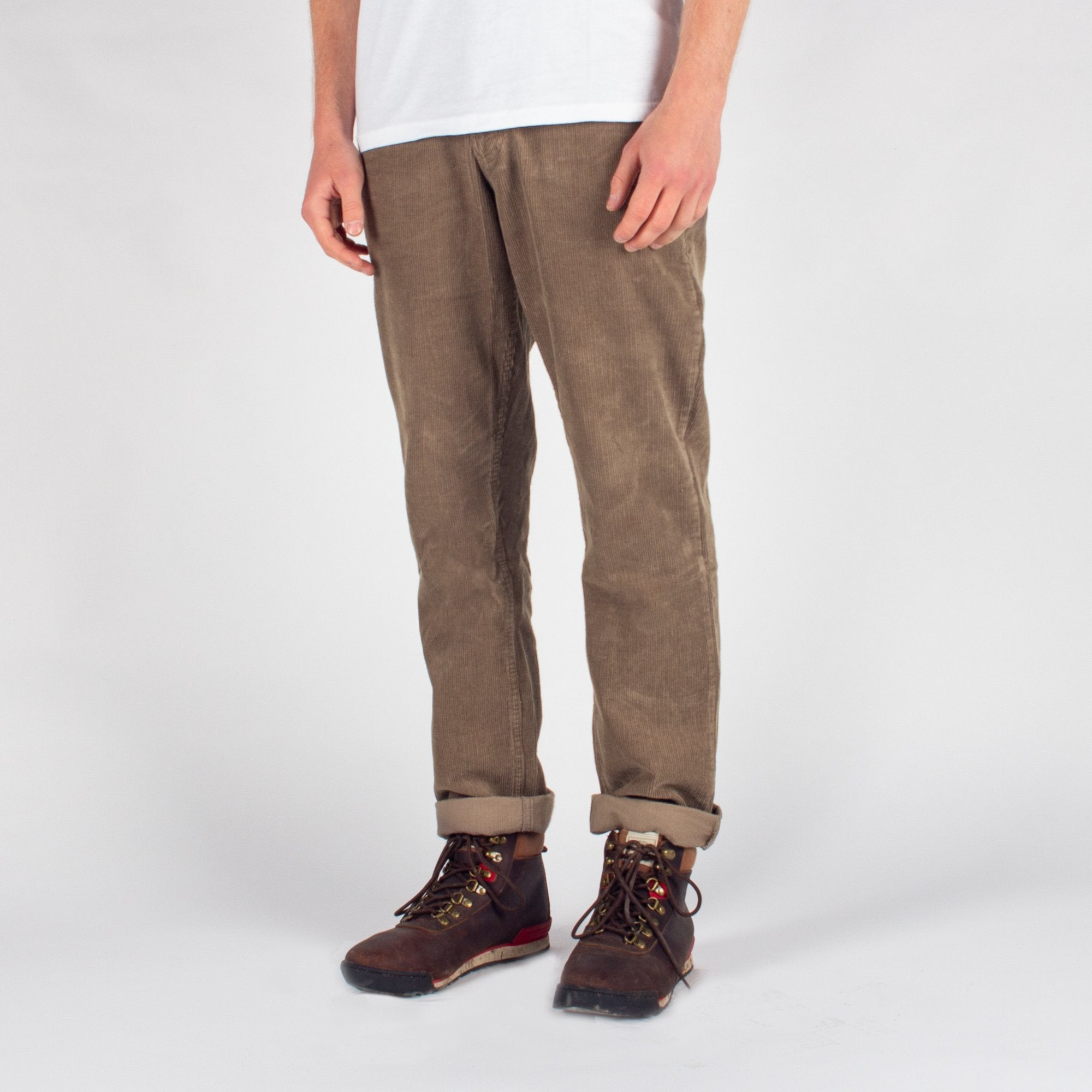 Daily Cord Trousers - Tan image 4