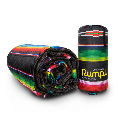 Rumpl Original Printed Puffy Blanket Throw - El Puffy Noche