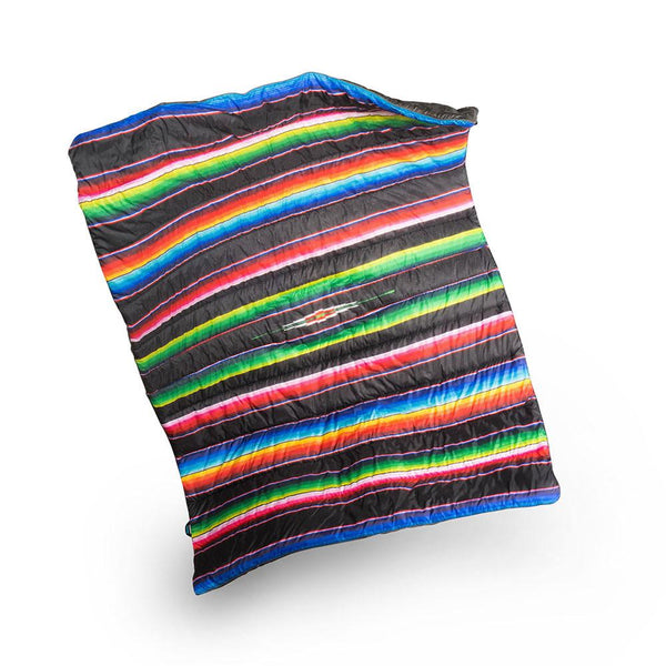 Mexican El Puffy Blanket Throw