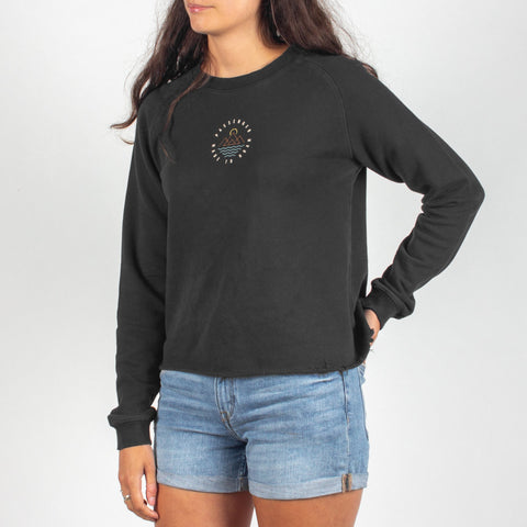 REMOTE SWEATSHIRT - BLACK
