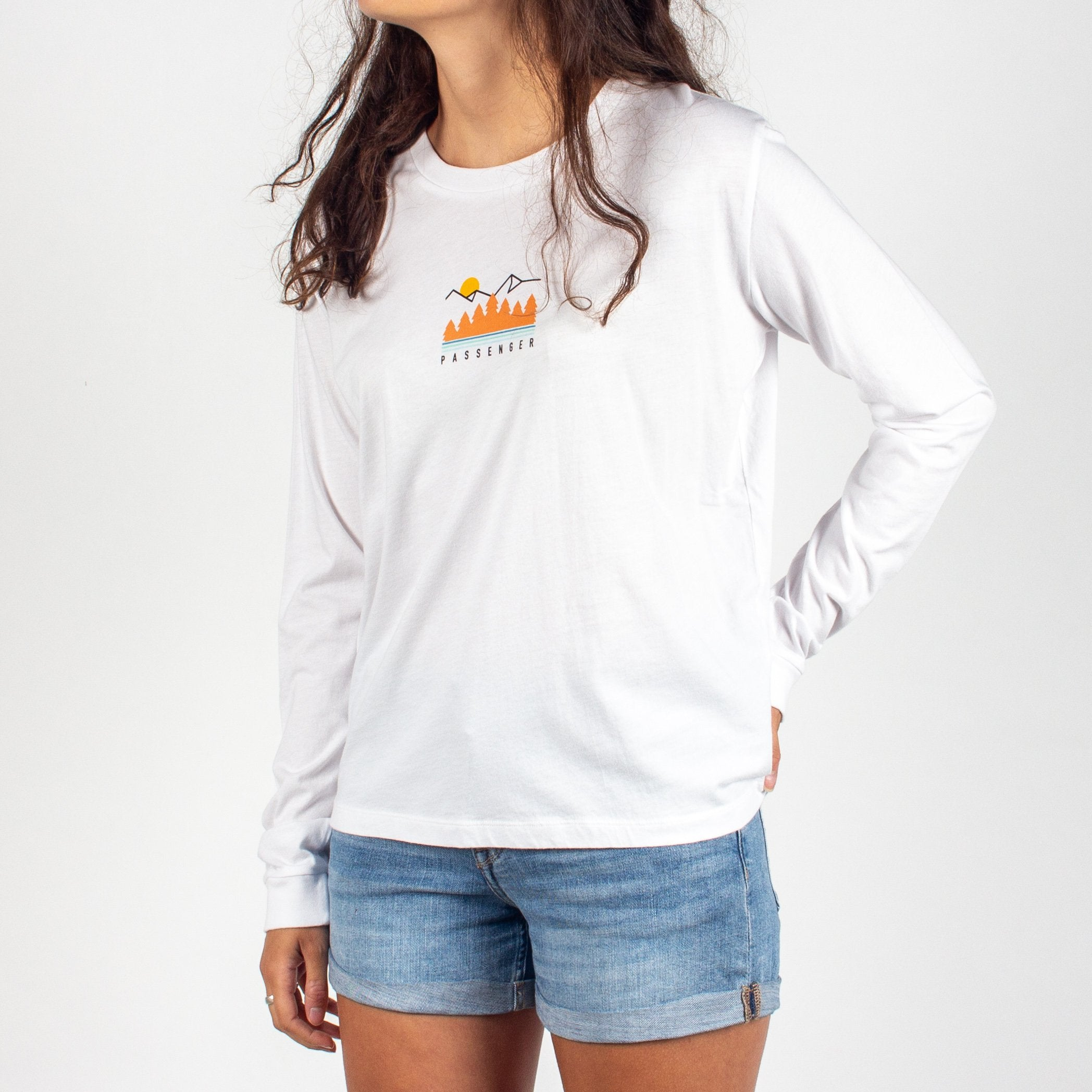 Travel More L/S T-Shirt - White image 4