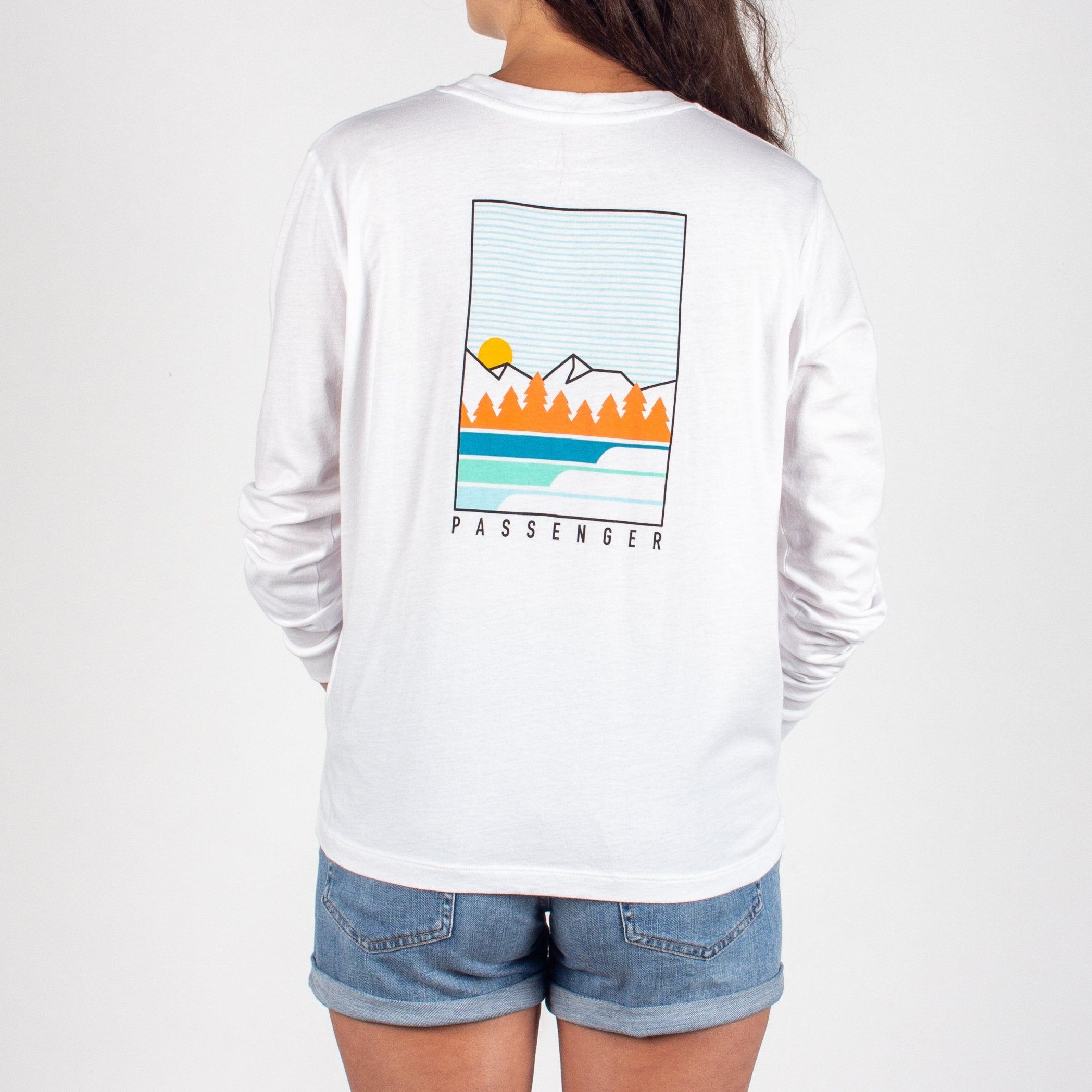 Travel More L/S T-Shirt - White image 6
