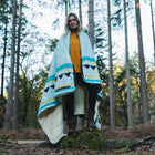 Nomadic 2 Person Sherpa Blanket - Turquoise