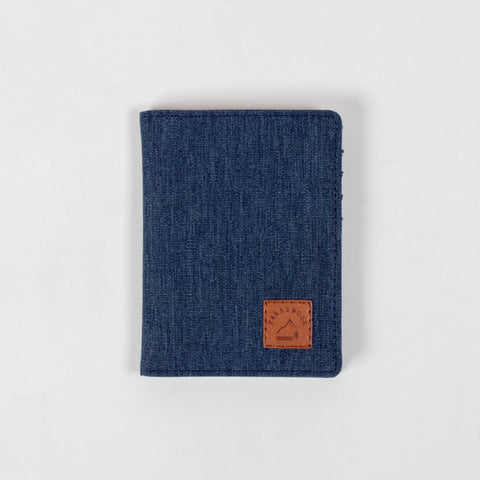 Carryon Wallet - Navy Marl