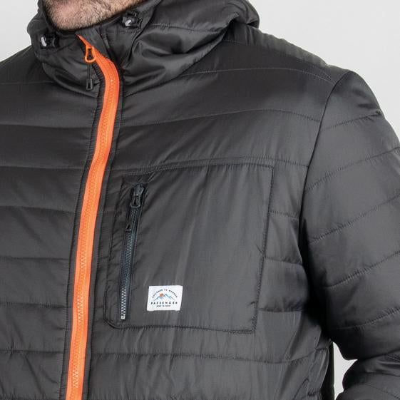 Patrol Insulated packable Jacket - Charcoal
