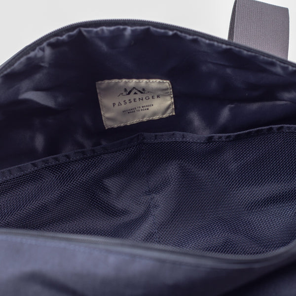Escape It All Duffle Bag - Navy Marl