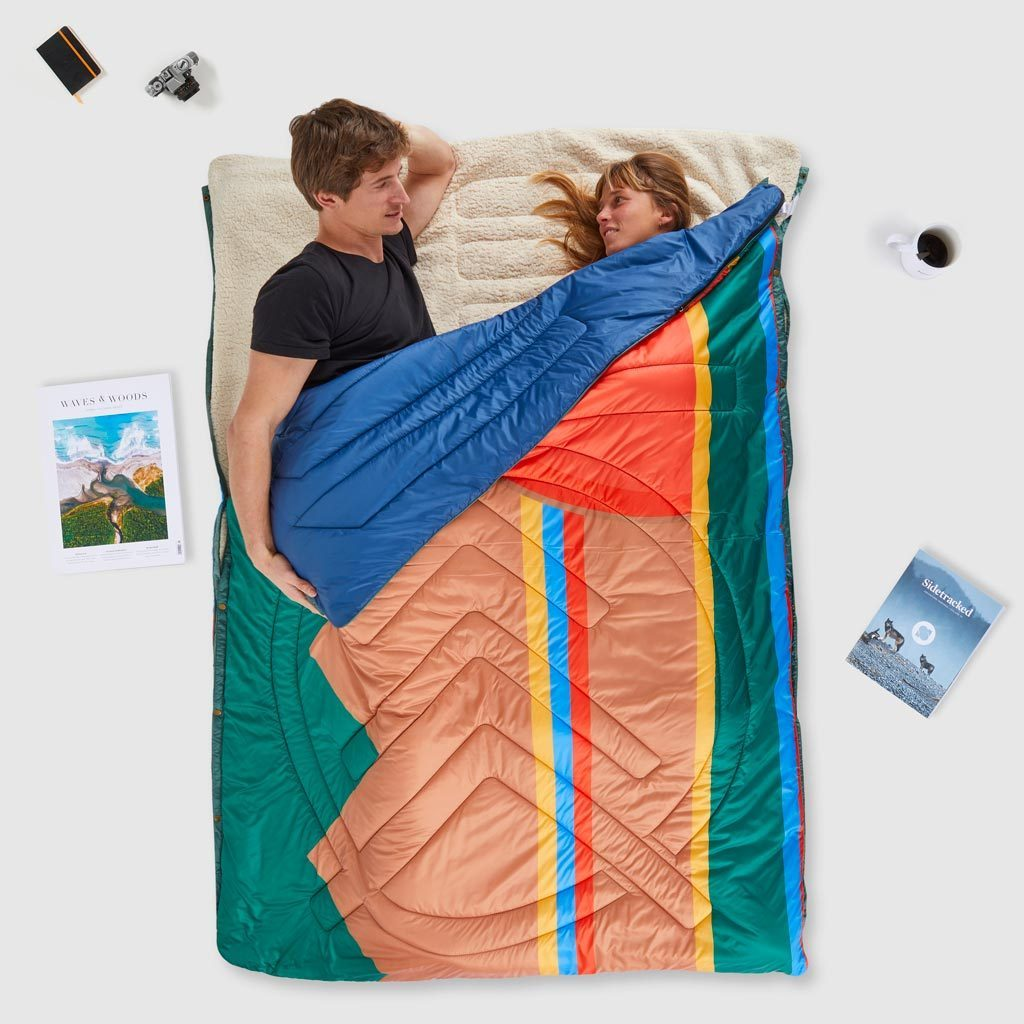Voited Insulated Pillow Blanket - Camp Vibes image 3