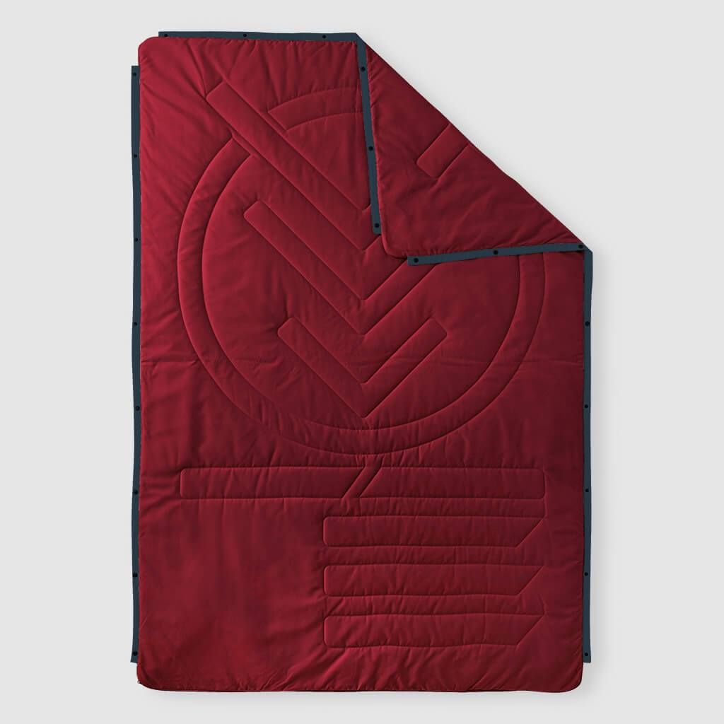 Voited Insulated Pillow Blanket - Oxblood image 1