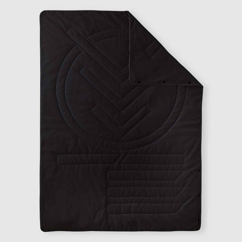 Voited Lightweight Travel Pillow Blanket - Black image 1