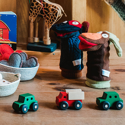 Handmade in Maine Natural Fiber Toys Books Puzzles and Games