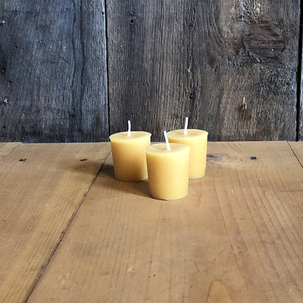 The Good Supply in Pemaquid Maine Artist Collection Danica Design Votive Beeswax Candle Made in USA