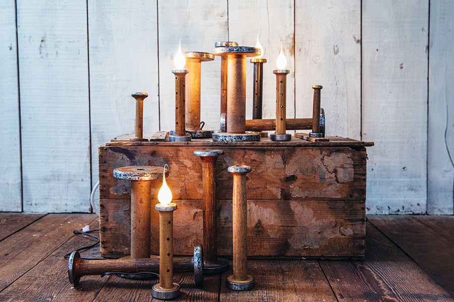 Electric Candle Lamps, Wooden Handled Jump Ropes, and More Made in Maine USA by Milling Around