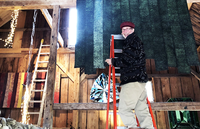 Maine Artist George Mason Installs Kinetic Art Wall Panels at The Good Supply