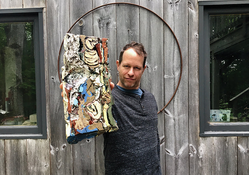 Maine Environmental Artist Jonathan Mess at The Good Supply