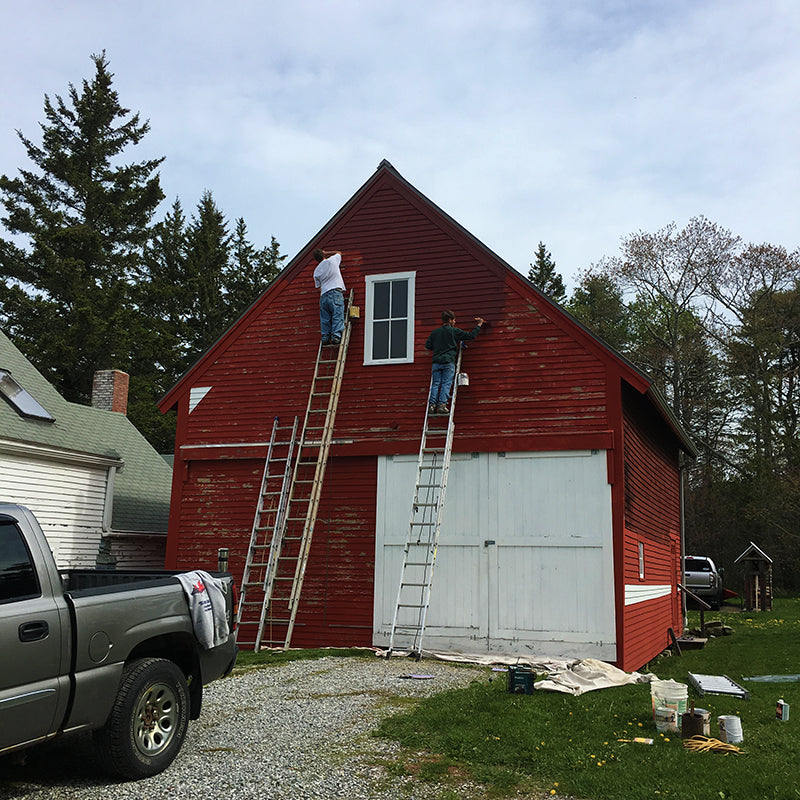 The Good Supply Trey Walker Barn Pemaquid Maine