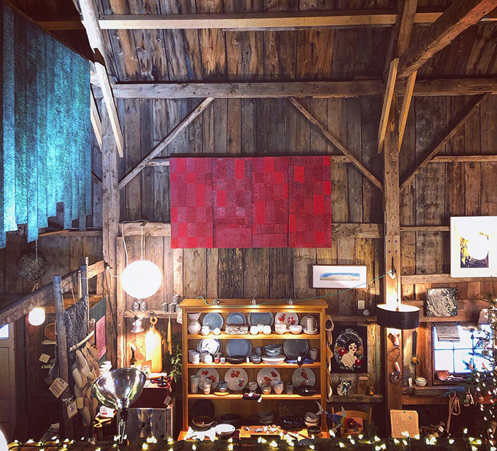 The Good Supply Midcoast Artisan Store Inspired by Nature Made in Maine USA 2020 Holiday Hours in the Barn Wreath Pick-up with Blue Cloud Farm and By Appointment