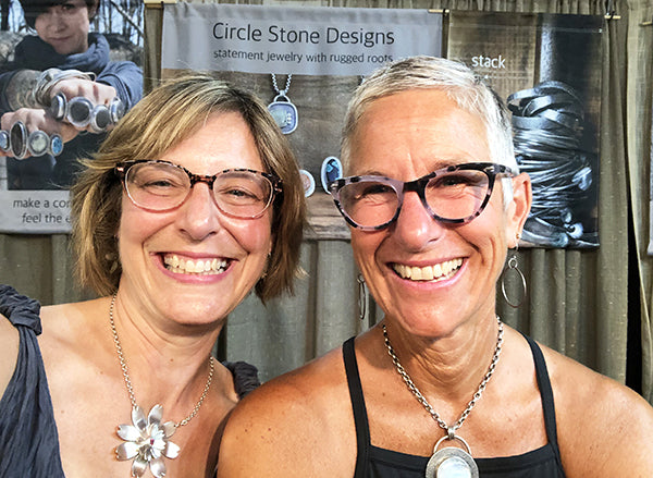 The Good Supply Midcoast Artisan Store Made in Maine USA Christine Peters Jewelry and Anita Roelz of Circle Stone Designs
