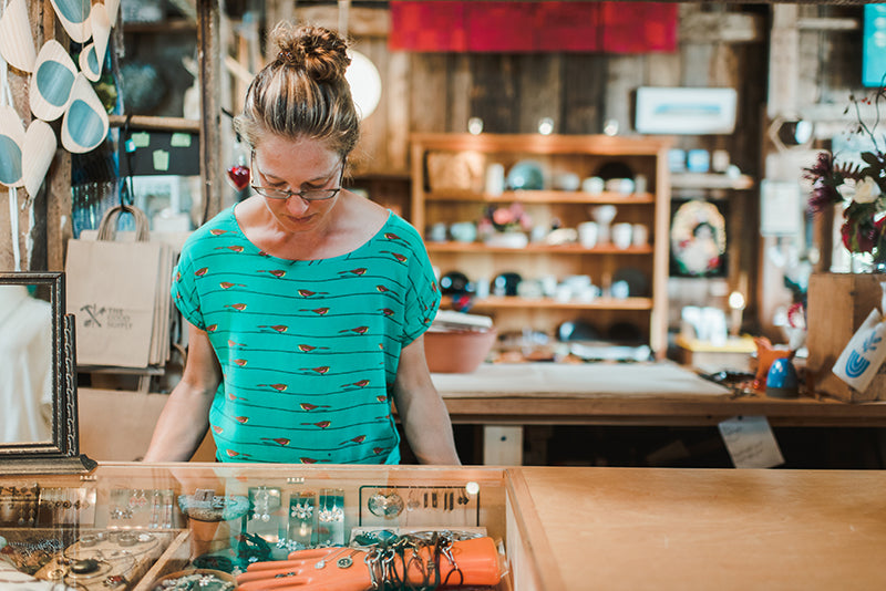 The Good Supply Midcoast Artisan Store Made in Maine USA Katie