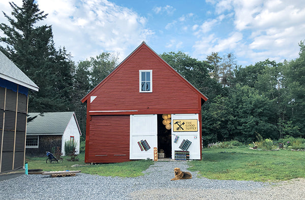 The Good Supply Midcoast Artisan Store Made in Maine USA Old Barn
