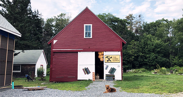 The Good Supply Pemaquid Maine Midcoast Artisan Barn