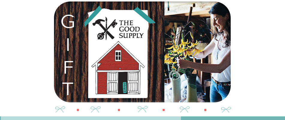 The Good Supply in Pemaquid Maine Midcoast Artisan Store Gift Card Certificate Made in USA