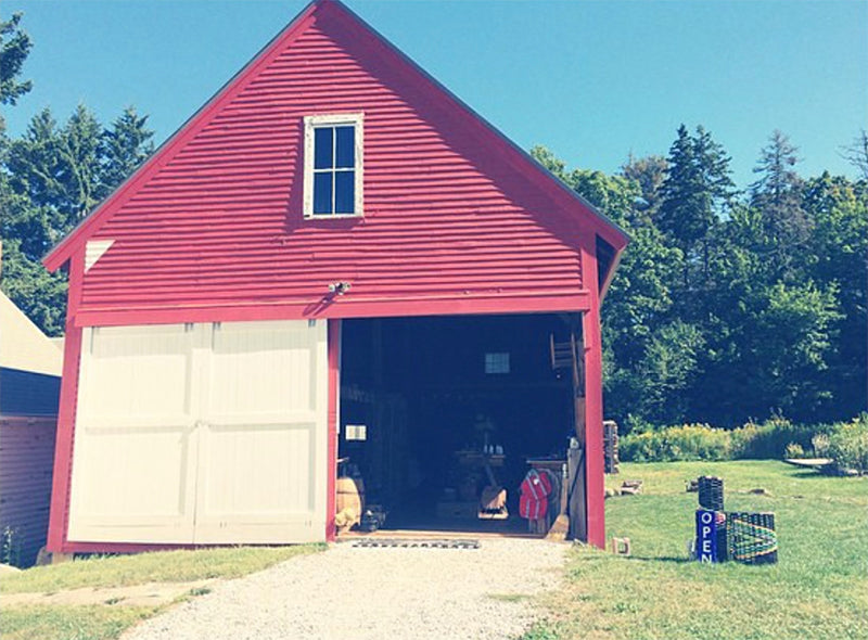 The Good Supply Post and Beam Barn Store Pemaquid Maine Midcoast Handmade