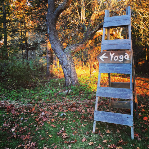 Pemaquid Maine Yoga at The Good Supply