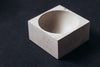Maine Maker Concrete Culinarium Modern Salt and Spice Pinch Bowl