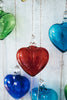 Recycled Glass Heart Ornament