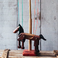 Maine Marionette Maker Fish River Crafts Dark Horse