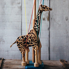Maine Marionette Maker Fish River Crafts Giraffe