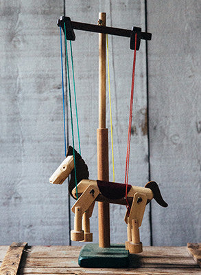 Maine Marionette Maker Fish River Crafts Light Horse