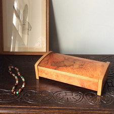 Maine Woodworker Louis Charlette Hinge Box with Lid