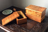 Maine Woodworker Louis Charlotte Small Wooden Box with Lid