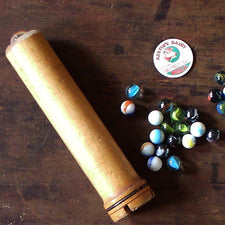 Wooden Kaleidoscope Made in Maine, USA by Milling Around using Authentic Vintage Industrial Materials