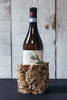 Handmade Cork Bottle Sleeve or Tabletop Holder Natural Rustic Tree Bark