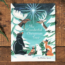 My Wonderful Christmas Tree by Dahlov Ipcar Printed by Islandport Press Published in Maine USA